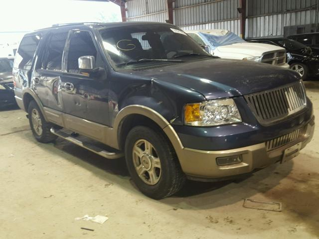 1FMEU17W23LB82826 - 2003 FORD EXPEDITION SILVER photo 1