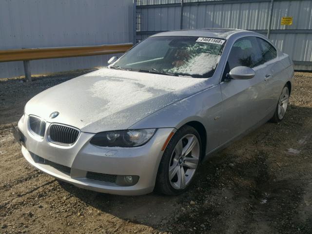 WBAWB73538P040867 - 2008 BMW 335 I SILVER photo 2