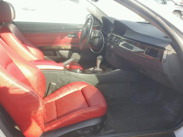 WBAWB73538P040867 - 2008 BMW 335 I SILVER photo 5