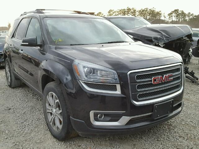 1GKKRRKD2EJ336449 - 2014 GMC ACADIA SLT BLACK photo 1
