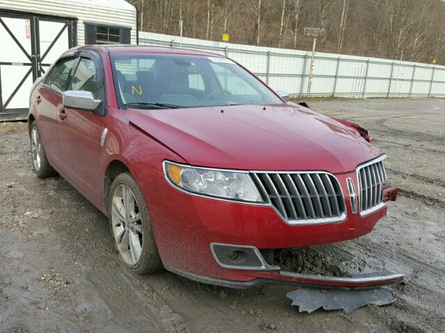 3LNHL2GC8AR753925 - 2010 LINCOLN MKZ, RED - price history, history ...