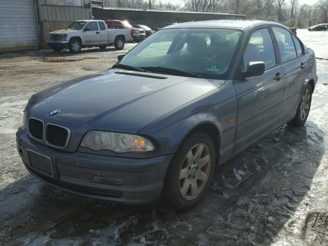 WBAAV33461EE78420 - 2001 BMW 325 I GRAY photo 2