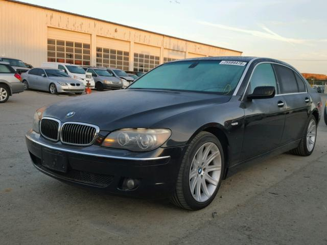WBAHN83526DT64008 - 2006 BMW 750 LI BLACK photo 2