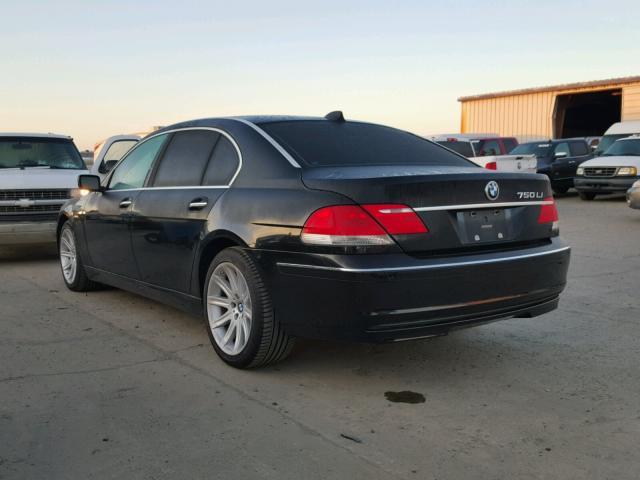 WBAHN83526DT64008 - 2006 BMW 750 LI BLACK photo 3