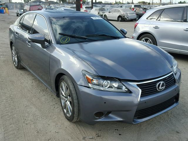 JTHBE1BL6D5003533 - 2013 LEXUS GS 350 GRAY photo 1