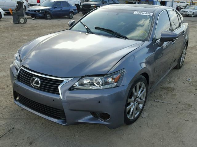JTHBE1BL6D5003533 - 2013 LEXUS GS 350 GRAY photo 2