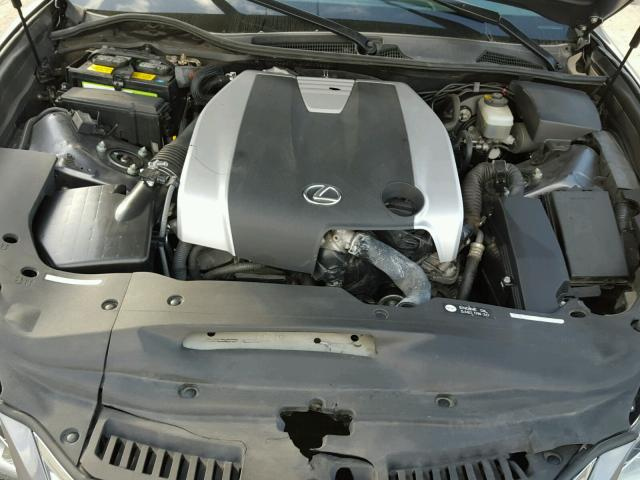 JTHBE1BL6D5003533 - 2013 LEXUS GS 350 GRAY photo 7