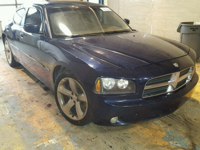 2B3KA53H66H167974 - 2006 DODGE CHARGER R/ BLUE photo 1