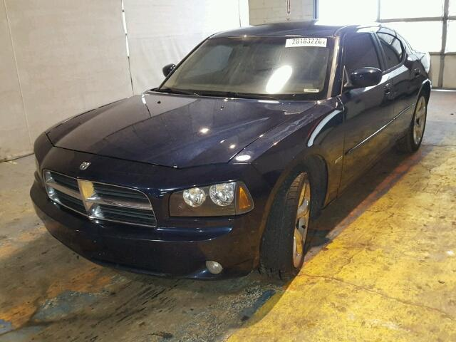 2B3KA53H66H167974 - 2006 DODGE CHARGER R/ BLUE photo 2