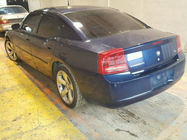 2B3KA53H66H167974 - 2006 DODGE CHARGER R/ BLUE photo 3
