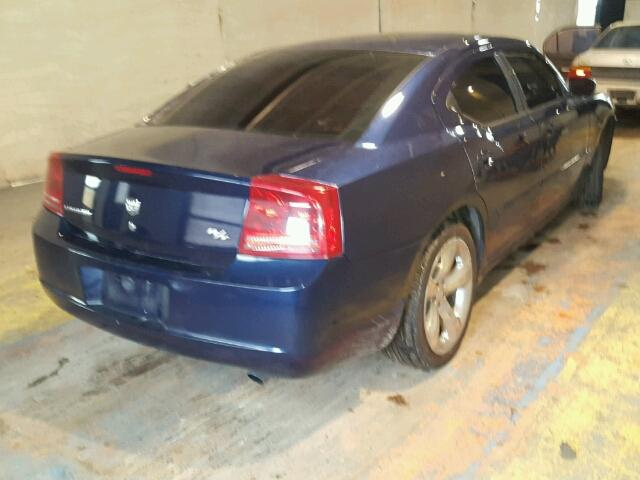 2B3KA53H66H167974 - 2006 DODGE CHARGER R/ BLUE photo 4