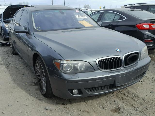 WBAHN83538DT81435 - 2008 BMW 750 LI GRAY photo 1