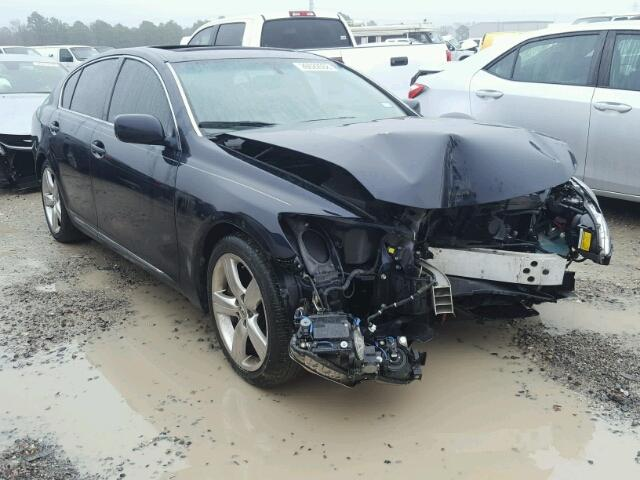 JTHBE96S470027251   2007 LEXUS GS 350 BLACK Photo 1