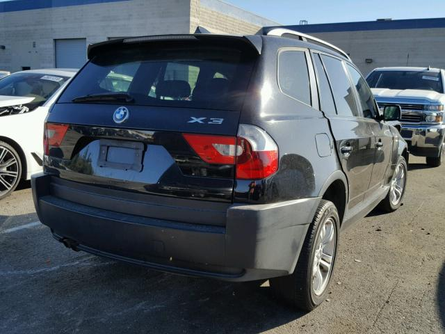 WBXPA93464WC32691 - 2004 BMW X3 3.0I, BLACK - price history, history ...