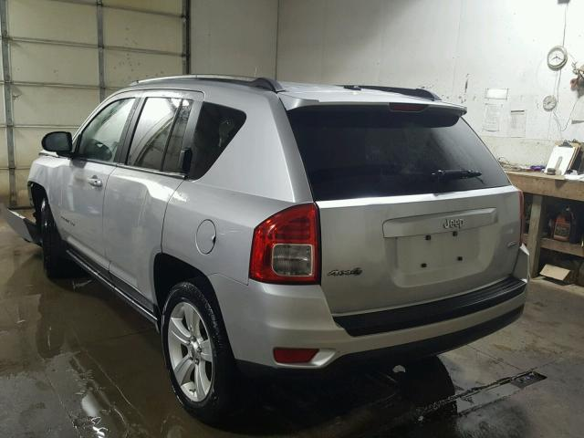 1J4NF1FBXBD259362 - 2011 JEEP COMPASS SP SILVER photo 3