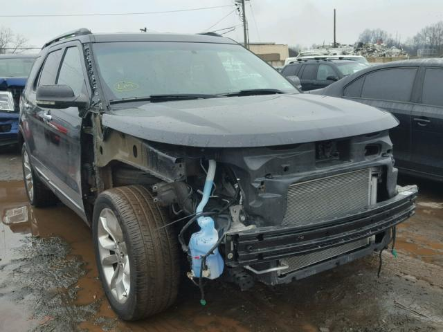 1FMHK8D84CGA10923 - 2012 FORD EXPLORER X BLACK photo 1