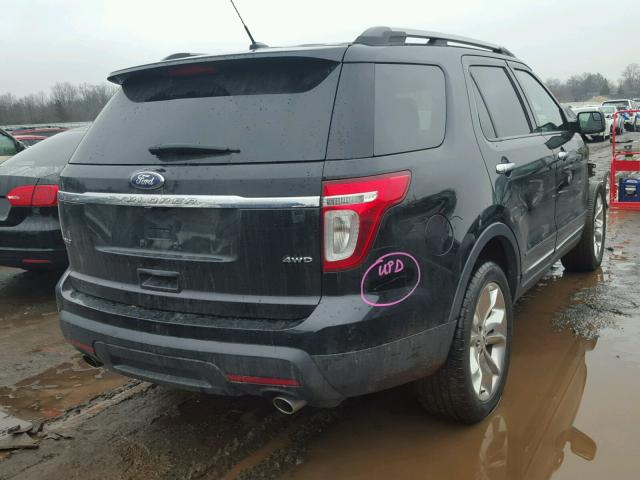 1FMHK8D84CGA10923 - 2012 FORD EXPLORER X BLACK photo 4