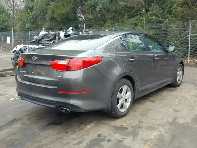 5XXGM4A73EG285109   2014 KIA OPTIMA LX BROWN Photo 4