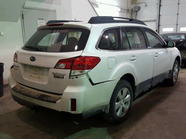 4s4brcac2c3226371 2012 Subaru Outback 2 White Price History
