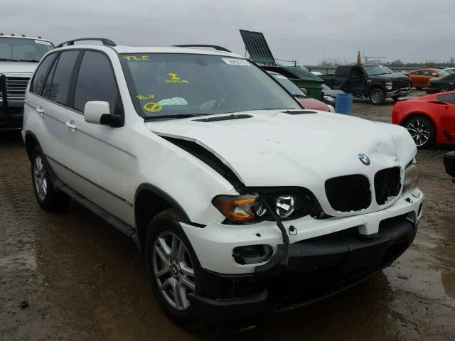 2004 Bmw X5 3 0i White 5uxfa13574lu23701 Price History History Of Past Auctions