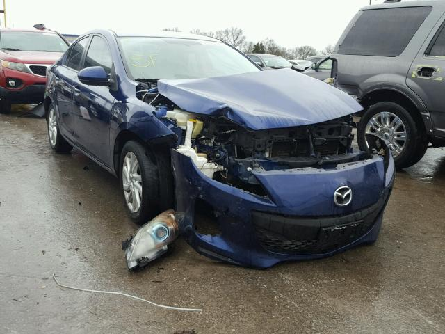 2012 MAZDA 3 I, BLUE, JM1BL1W76C1535309 -, price history, history of past  auctions