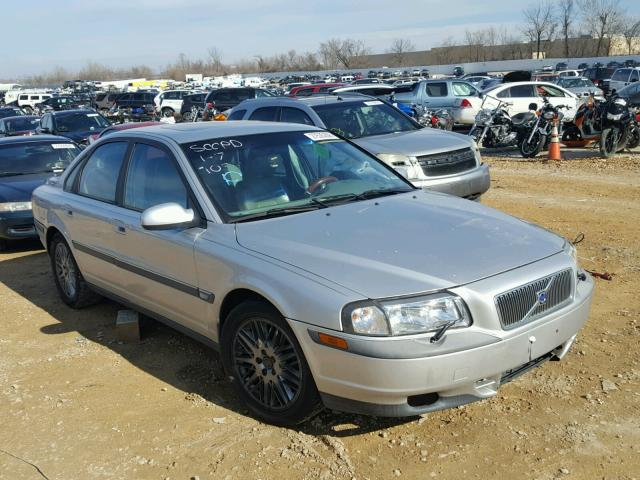 Yv1ts94d711207953 2001 Volvo S80 Silver Price History History