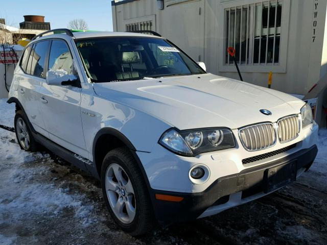 2008 Bmw X3 3.0 Si >> 2008 Bmw X3 3 0si White Wbxpc93488wj19466 Price History History Of Past Auctions