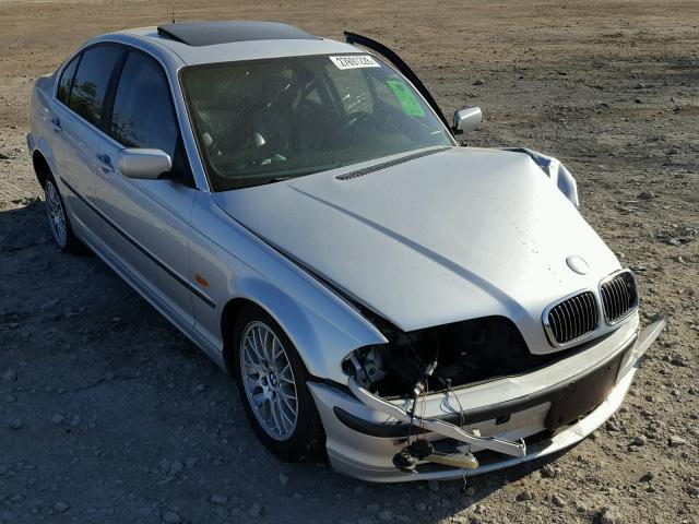 WBAAM5344YFR20434 - 2000 BMW 328 I SILVER photo 1