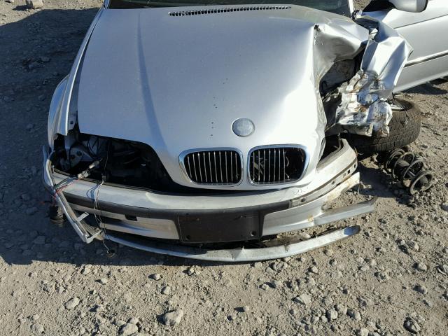 WBAAM5344YFR20434 - 2000 BMW 328 I SILVER photo 7
