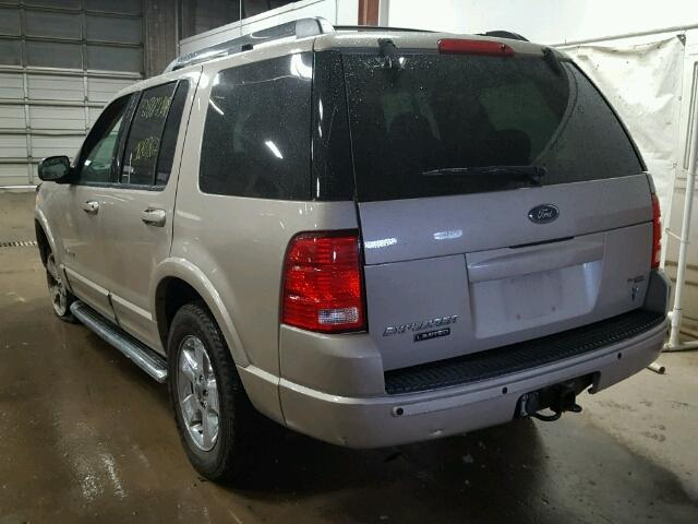 1FMDU75W45UA39861 - 2005 FORD EXPLORER L TAN photo 3