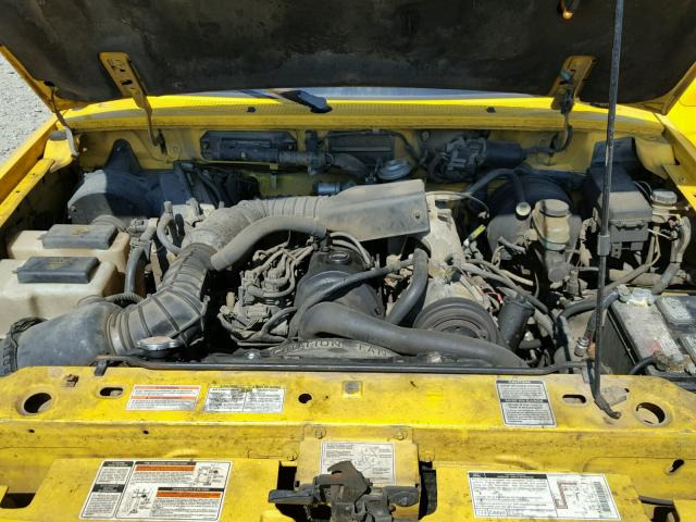 1ftcr10a4spa14687 1995 Ford Ranger Yellow Price
