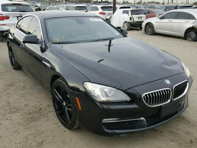 WBA6A0C5XDDF14399 - 2013 BMW 640 I BLACK photo 1