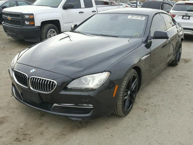 WBA6A0C5XDDF14399 - 2013 BMW 640 I BLACK photo 2