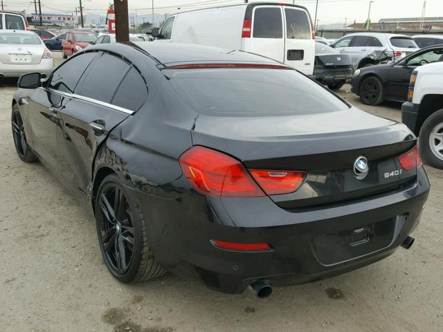 WBA6A0C5XDDF14399 - 2013 BMW 640 I BLACK photo 3