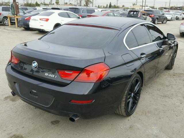 WBA6A0C5XDDF14399 - 2013 BMW 640 I BLACK photo 4