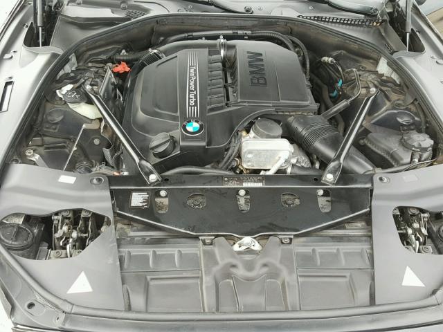 WBA6A0C5XDDF14399 - 2013 BMW 640 I BLACK photo 7