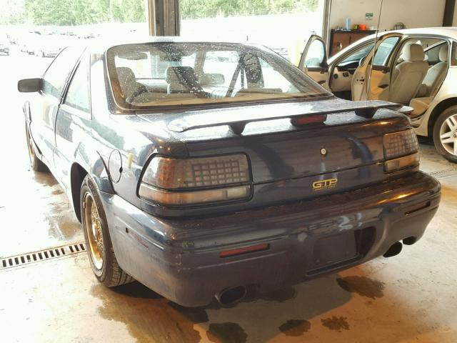 1G2WJ12X0RF257522 - 1994 PONTIAC GRAND PRIX TEAL photo 3