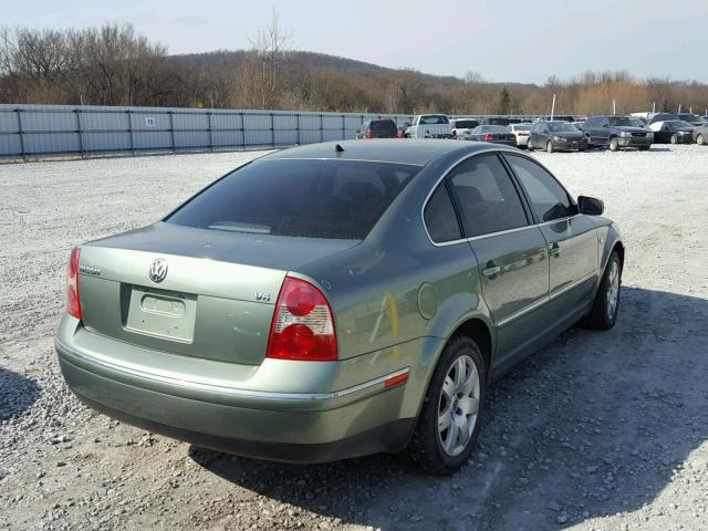 WVWRH63B63P200196 - 2003 VOLKSWAGEN PASSAT GLX TAN photo 4