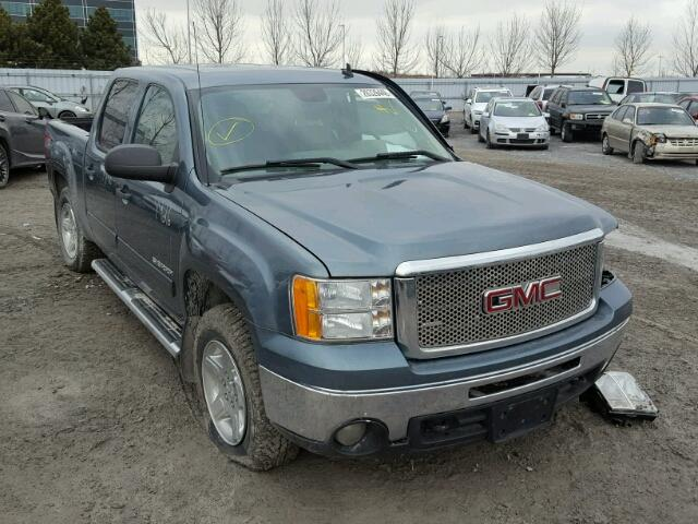 3GTRKVE33AG125279 - 2010 GMC SIERRA K15 BLUE photo 1
