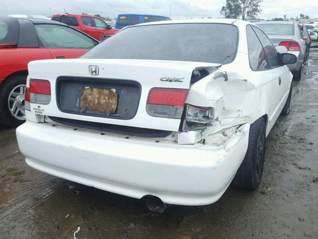 1HGEJ6124XL008876   1999 HONDA CIVIC DX WHITE Photo 4