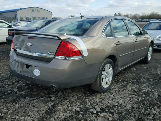 2G1WC581769173131 - 2006 CHEVROLET IMPALA LT BROWN photo 4