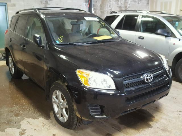 JTMBF4DV6C5056620 - 2012 TOYOTA RAV4 BLACK photo 1