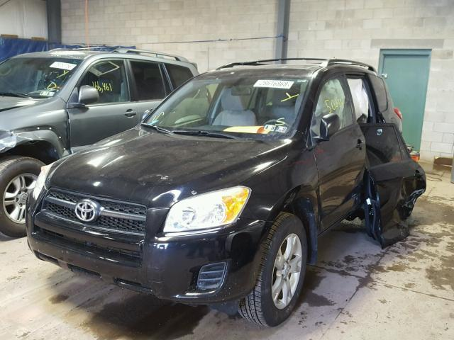 JTMBF4DV6C5056620 - 2012 TOYOTA RAV4 BLACK photo 2