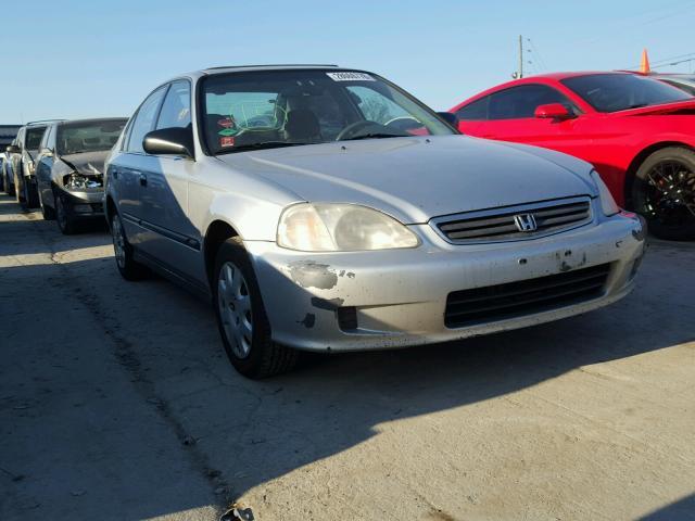 1999 Honda Civic Lx >> 1999 Honda Civic Lx Silver 1hgej6676xl030401 Price History History Of Past Auctions