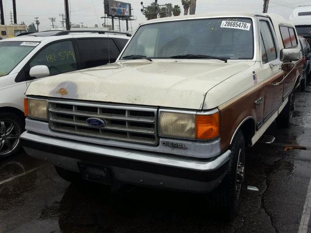 1987 Ford F250 >> 1987 Ford F250 Two Tone 1fthf2516hpb08009 Price History History Of Past Auctions