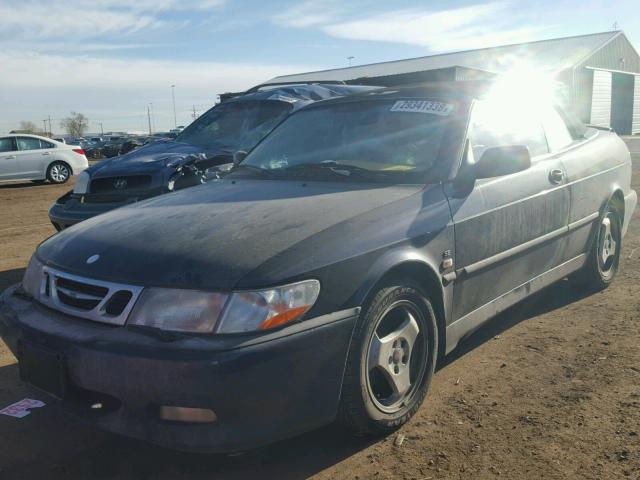 YS3DF78K637003665 - 2003 SAAB 9-3 SE BLUE photo 2
