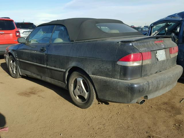 YS3DF78K637003665 - 2003 SAAB 9-3 SE BLUE photo 3
