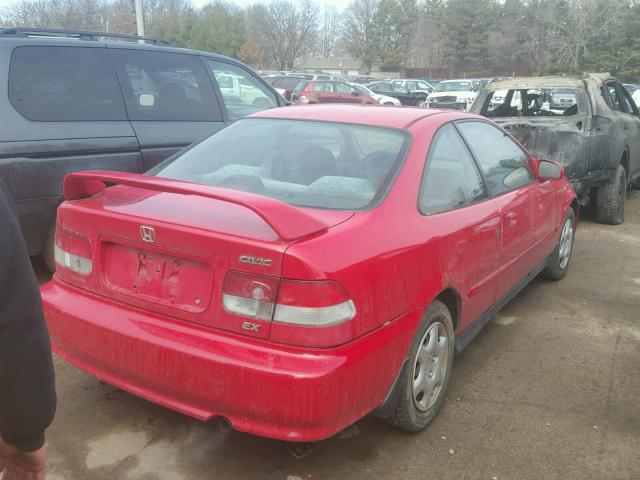 1HGEJ8247YL067854   2000 HONDA CIVIC EX RED Photo 4