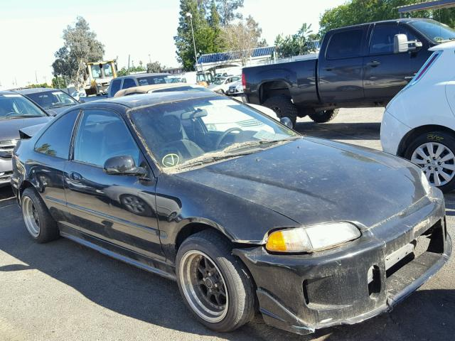 2HGEJ1222SH568273   1995 HONDA CIVIC EX BLACK Photo 1