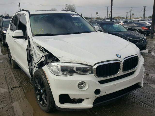 5UXKR2C56G0U17276 - 2016 BMW X5 SDRIVE3 WHITE photo 1